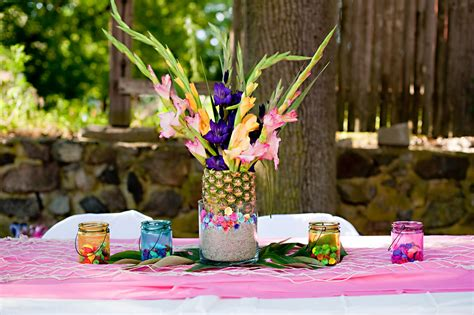 Events That Sparkle A Luau Birthday Party
