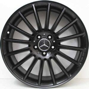 Mercedes benz amg mercedes wheels aftermarket rims custom mercedes replica wheels custom forge wheels for sale forged wheels color powder. 19 inch Genuine Mercedes Benz AMG CLA4 5 / A45 ALLOY WHEELS IN CUSTOM BLACK | eBay