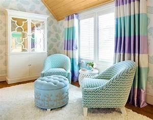 Sessel Für Kinderzimmer : kinderzimmer gardinen eine verantwortungsvolle wahl ~ Frokenaadalensverden.com Haus und Dekorationen