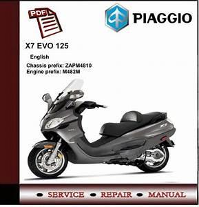 Piaggio X9 Evo 125 Euro 3 Workshop Service Repair Manual