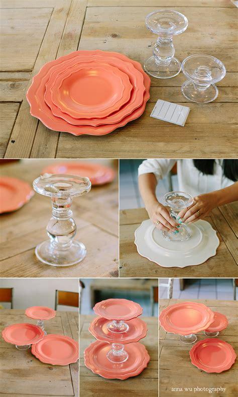 personalized melamine platters diy modular cake stand tutorial lushzone