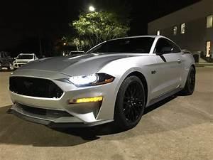 Ingot Silver 2019 Ford Mustang