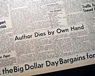 ERNEST HEMINGWAY American Author & Journalist Death ...