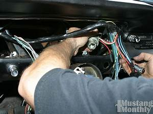 How To Install A New Wiring Harness For Your Ford Mustang