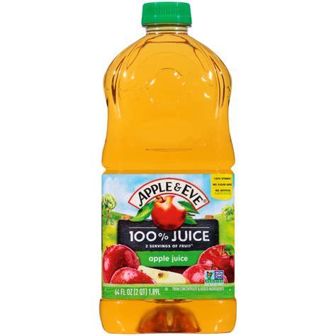 Apple & Eve 100% Apple Juice, 64 Fl. Oz. - Walmart.com ...