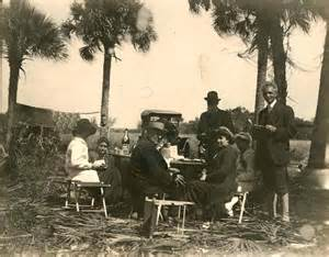 Thomas Edison and Henry Ford Camping