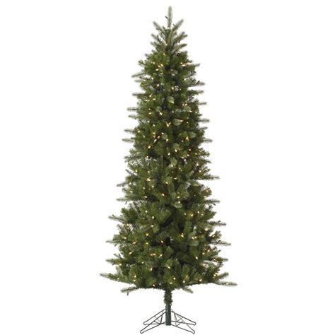 12 foot carolina pencil spruce christmas tree all lit