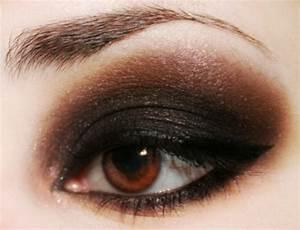 Maquillage Soirée Yeux Marrons : maquillage yeux marrons en plus de 65 id es l gantes et ~ Melissatoandfro.com Idées de Décoration