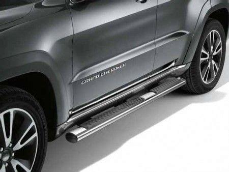 jeep grand cherokee chrome aluminium side steps kac jeep jeep grand cherokee jeep