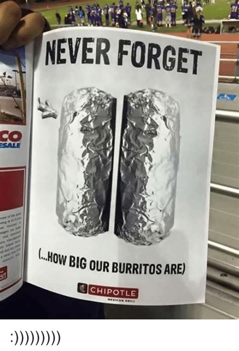 Chipotle Meme Chipotle Memes Of 2016 On Sizzle Food