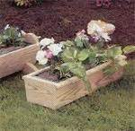 Amish-Made Flower Planters by Dutchcrafters Amish Furniture