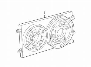Ford Freestar Engine Cooling Fan Assembly  Radiator