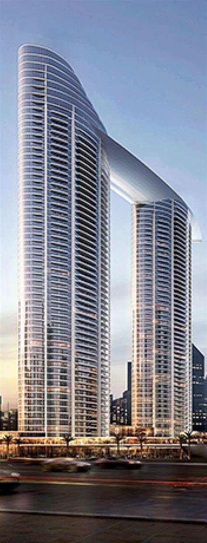 The Address Residence Sky View Tower Dubai Uae Designed
