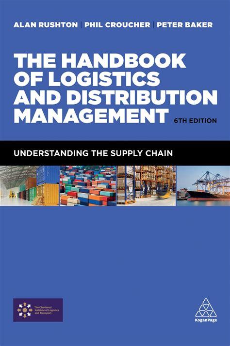 handbook  logistics  distribution management
