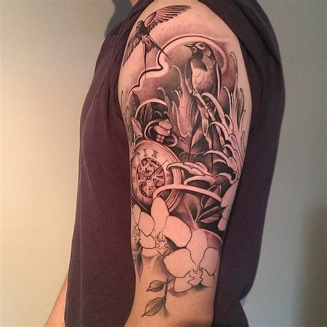 Sleeve Meaning by 90 Cool Half Sleeve Tattoo Designs Meanings Top Ideas