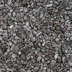 Gray industrial gravel Seamless background photo texture ...