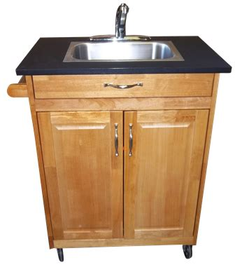 handmade kitchen sinks single basin self contained portable sink portable 1553