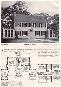craftsman style home interiors colonial revival house interior 1920 colonial