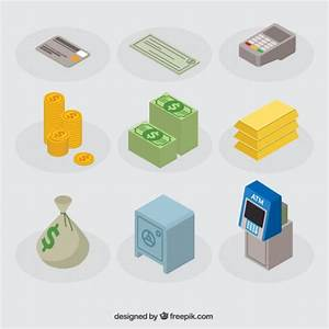 Banking icons Vector | Free Download
