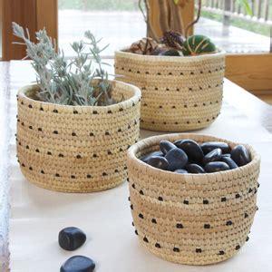 handmade fair trade african baskets  kenya