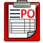 Purchase Order Po App Invoice Icon Age