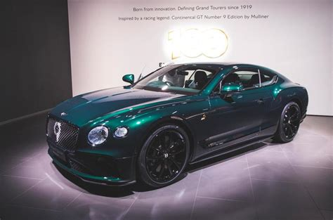 bentley marks  anniversary  continental gt number