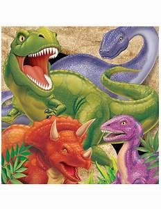 Partydeko Auf Rechnung : 16 dinosaurier servietten partydeko und g nstige faschingskost me vegaoo ~ Themetempest.com Abrechnung