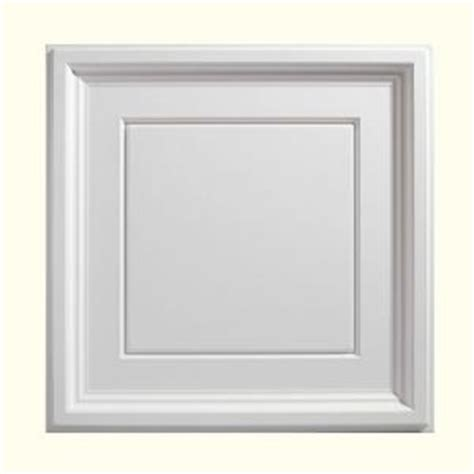 genesis 2 ft x 2 ft icon coffer white ceiling tile 753