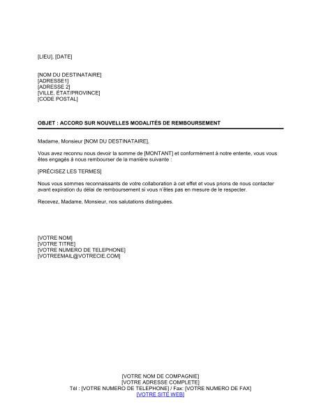 modele lettre suspension de credit immobilier modele lettre remboursement document