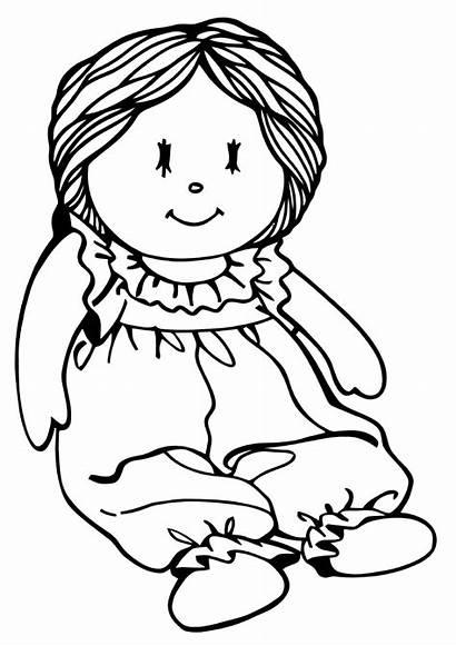 Doll Coloring Babydoll