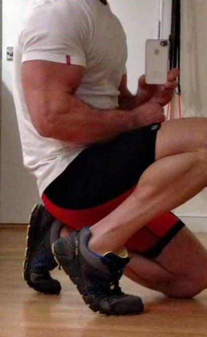 male underwear  balanced sneakers worn