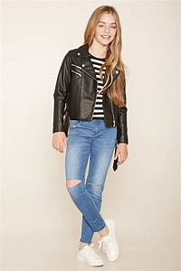 Girls Ripped Jeans (Kids)   Forever 21 - 2000153899