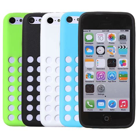apple iphone 5c cases slim silicone gel rubber cover for apple iphone 5c