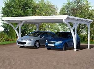 Garage Homologation 5 Places : carport double en bois lam ll coll 618 x m toit plat ~ Medecine-chirurgie-esthetiques.com Avis de Voitures