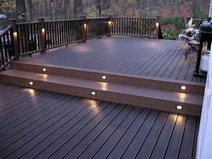 Eclairage Terrasse Bois : eclairage terrasse ma terrasse ~ Melissatoandfro.com Idées de Décoration
