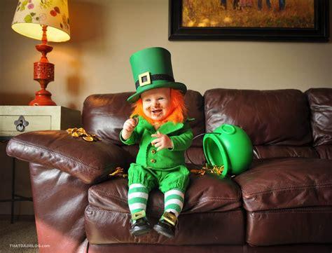 Cute Leprechaun Baby Costume