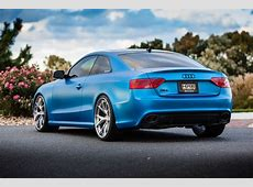 Matte blue Audi RS5 Rare Cars for Sale BlogRare Cars for