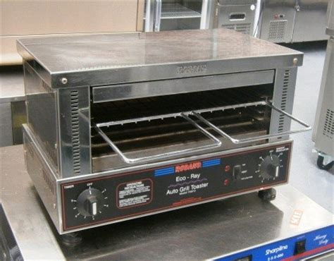 used commercial toaster roband ta610 toaster salamander commercial kitchen