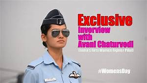 Exclusive Interview With India's First Women Fighter Pilot ...