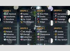 Así quedan los grupos de la Copa Libertadores 2017 AScom