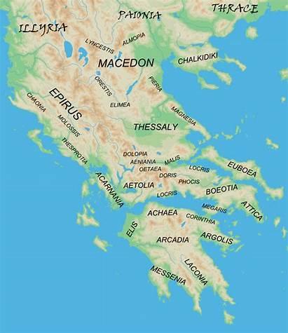Greece Ancient Mainland Regions Wikipedia