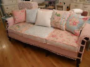 shabby chic sofa vintage chic furniture schenectady ny my vintage chenille slipcovered pieces