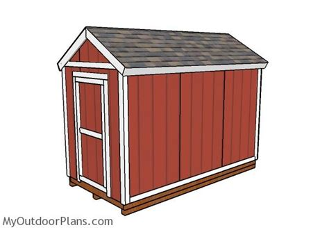6 X 12 Shed Plans by 6x12 Shed Plans Myoutdoorplans Free Woodworking Plans