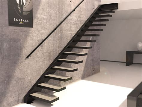 d 233 coration escalier suspendu design moderne clermont ferrand 22 escalier droit lapeyre