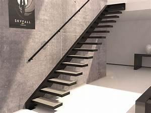 Escalier En Colimaçon Pas Cher : acheter un escalier suspendu stairkaze ~ Premium-room.com Idées de Décoration