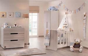 Idees Deco Chambre : d co chambre b b le voilage et le ciel de lit magiques design feria ~ Melissatoandfro.com Idées de Décoration