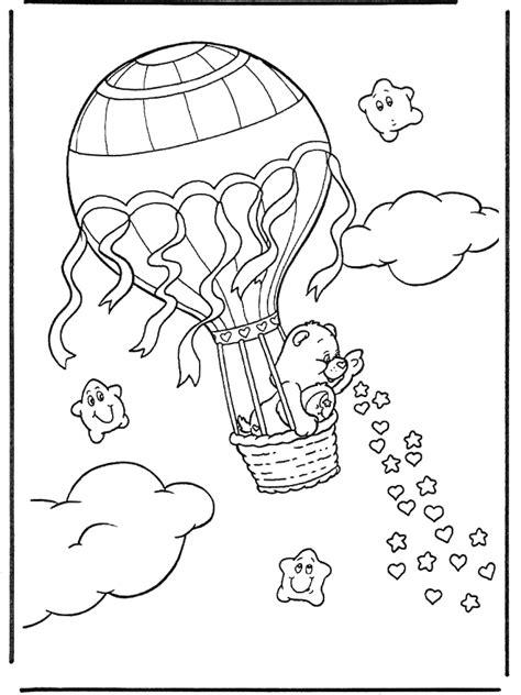 ausmalbilder heissluftballon kostenlos malvorlagen zum