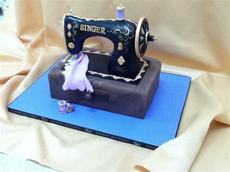 brooklyn bakery custom cakes singer sewing machine