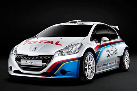 Peugeot Uncovers New 208 R5-spec Rally Car