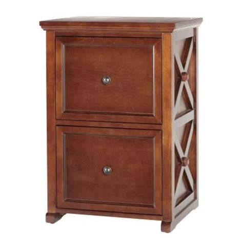 home decorators home depot cabinets home decorators collection brexley chestnut 2 drawer file
